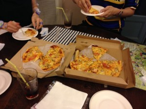 ZACのピザ