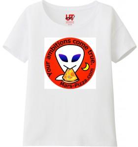 レディスTシャツ 火星人